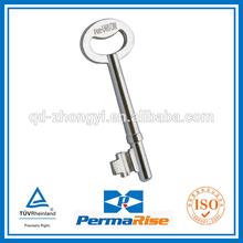 hot sale MH zinc alloy mortise key blank