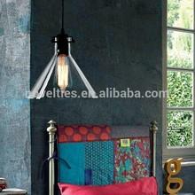 Single Head MERIDIAN Modern Funnel Edison Light Bulb Pendant Light for Dining Room