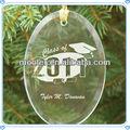 nome gravado vidro graduação ornamento para decoração de natal