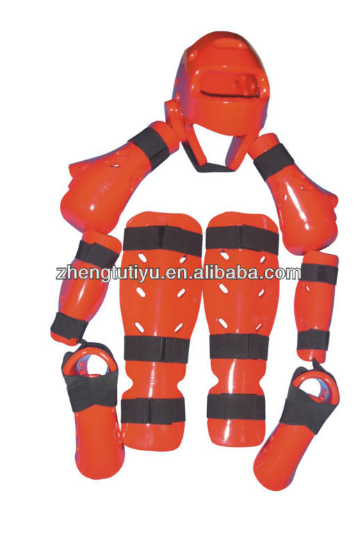 wholesale artificial PU synthetic leather personalized championship training taekwondo gear equipment for sale