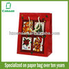 water resistant paper promotional bag with handle