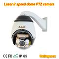 Laser exterior cctv câmera ptz com 27 xoptical zoom eir da escala longa distância, kamera bom para o uso da noite