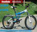 """Royalbaby escalador 20 """" bicicletas de montaña para la venta con suspensión y aluminium frames"""