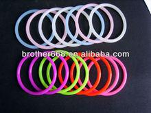 glow in the dark silicon bracelet/silicone wristband/silicone wrist band, wristbands silicone, bracelet silicone