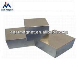 EM-B014 N35 NdFeB block Magnet with Zn coating