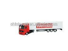1:87 custom container carrier trucks