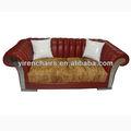 Lether suave y cómodo dubai sofá muebles