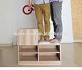 Armoire à chaussures hx141022-sl01 mdf cabinet banc porche