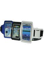 PVC PU Nylon Protective Mobilephone Armband Sleeve