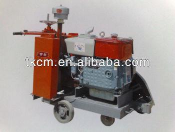 Advanced HQS400 diesel concrete cutter