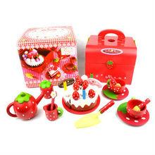 2014 toys kitchen play set,wooden birthday cake toys