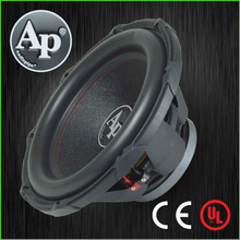 "10""-15"" Professional Super Power Car Audio Subwoofer, dual terminal car subwoofer speaker"