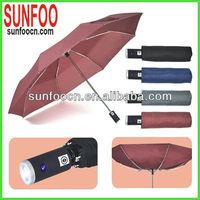 Super Bright Folding LED Torch Umbrella