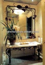 2mm silvered bathroom mirror