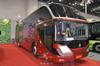 High Quality HOWO 12m 50seats passenger buslong distance bus Coach