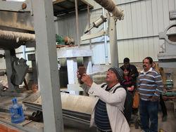 rewinding machine for tissue paper mill