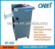 multi-purpose LCD book binding machine 20books per minute automatic paper binding and folding machine