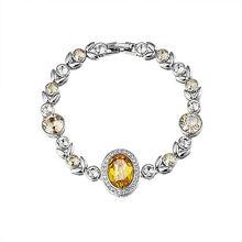 High class big crystal bracelet