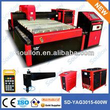 Yag laser de aço máquina de corte sd-yag 3015 600w