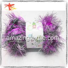 100% Nylon Feather Knitting Yarn/Soft Yarn for Scarf