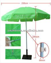 Green Wholesale Advertising Beach Umbrella Outdoor