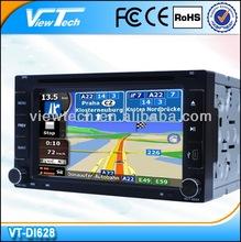 6.2inch 2 din car multimedia navigation system