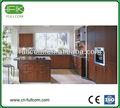 Clássico de madeira- como o pvc moldado armários de cozinha
