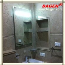 Luxurious Hotel Bathroom Accessories Set Decorating bath mirror with defogger BGL-007