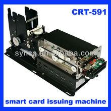 Synco parking system Kiosk IC/RF/magnetic Card Reader module & Card Dispenser (RS232&USB) CRT-591