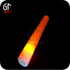 Party Supplier Promotional Gifts Orange Color Led Foam Sticks