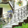 Hand Made Wrought Iron Staircase