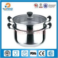 26cm multipurpose stainless steel steamer pot, fire pot