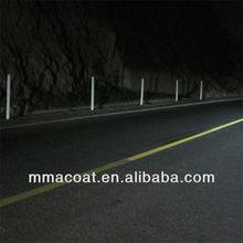 self adhesive reflective film of mma antifoul road marking paint