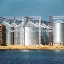 Poultry feeding equipment silo
