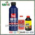 rojo líquido de frenos de aceite lubricante