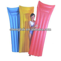 Pvc inflatable great double waterbed mattress EN71 approved