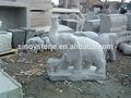 Granite statue d'éléphant