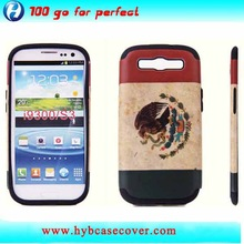 Good quality sticker on the phone cover for samsung galaxy s3