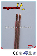 OFC Transparent Parallet Speaker Cable From Cable Factory