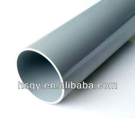 White large pvc upvc pipe view diameter
