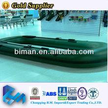 Motorized rubber boat