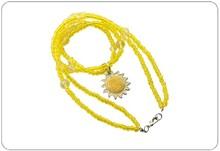 graceful decorative heart shape necklace for ladies