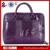 2013 Latest Fashion Purple Stone Pattern Solid Handbags