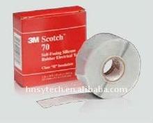 3 M Scotch 70 # 25 mm * 9.1 M * 0.3 mm professionnel électrique Silicone bande