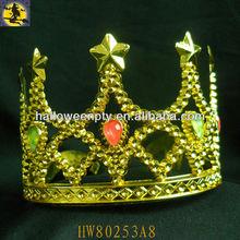 2013 Fashion Flashing Plastic King Crown