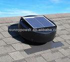 12W round solar attic fan