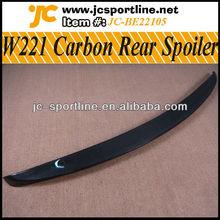 S-Class Carbon W221 Rear Spoiler /W221 Rear Lip Spoiler for Mercedes
