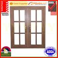 الالومنيوم بابية نافذة مزدوجة مع as2047 و الزجاج المزدوج المزجج مع الامن شواء شواء
