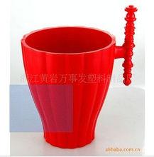 plastic ice bucket with handle