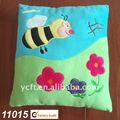 De felpa y peluche bebé cojín, de dibujos animados de la abeja-11015